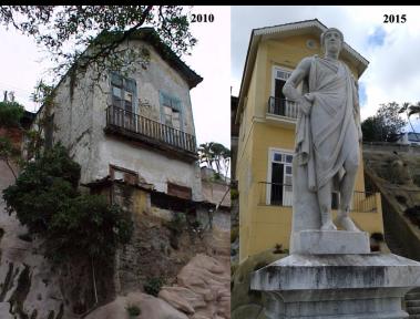 Casa da Guarda Antes e depois